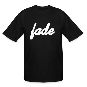 Fade Official Cursive - Men's Tall T-Shirt