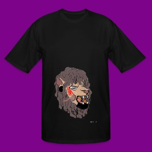 Limited Edition Colored Lionwell Lion - Men's Tall T-Shirt