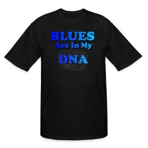 Blues DNA - Men's Tall T-Shirt