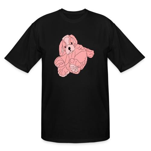 Soft Pink Puppy - Men's Tall T-Shirt