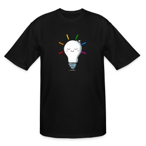 Lighten Up - Men's Tall T-Shirt