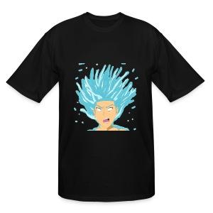 JKEYE inDEPTH SSJ BLUE - Men's Tall T-Shirt