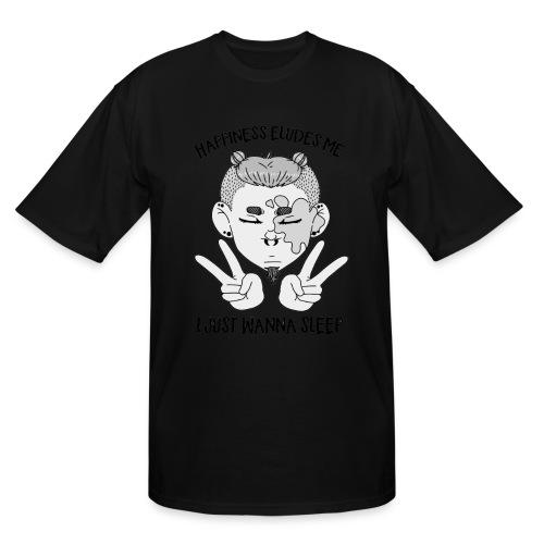 Happiness? - Men's Tall T-Shirt