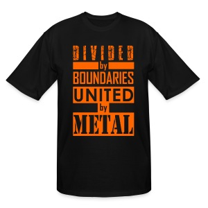 United by Metal - Men's Tall T-Shirt