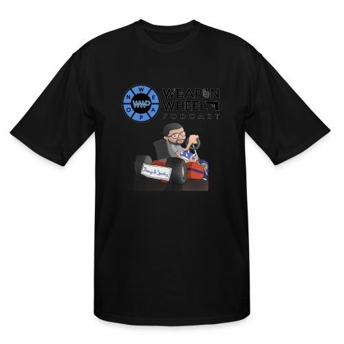 Weapon Wheel Podcast JayMegaGames T-Shirt - Men's Tall T-Shirt