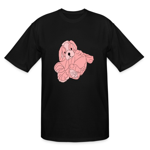 Soft Pink Puppy - Men's Tall T-Shirt