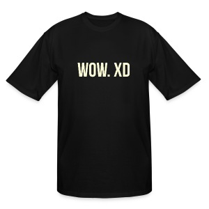 WOW. XD - Men's Tall T-Shirt