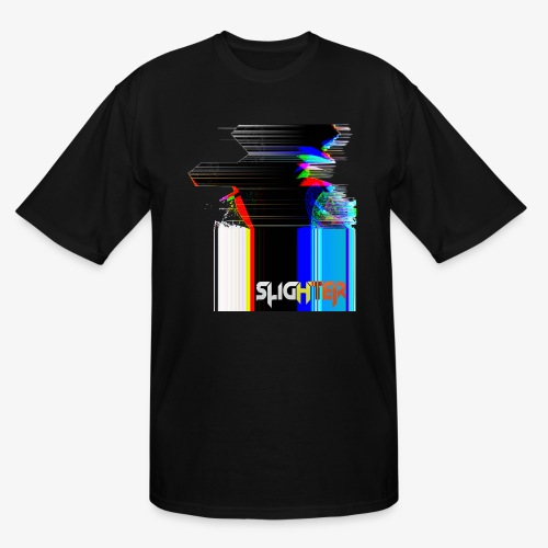 Chroma Glitch - Men's Tall T-Shirt