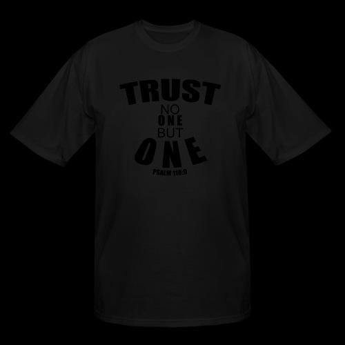 TRUST NO ONE - Men's Tall T-Shirt