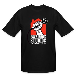 Save Home Studios In Music City - Men's Tall T-Shirt