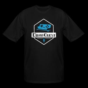 DivanQuest Logo (Badge) - Men's Tall T-Shirt
