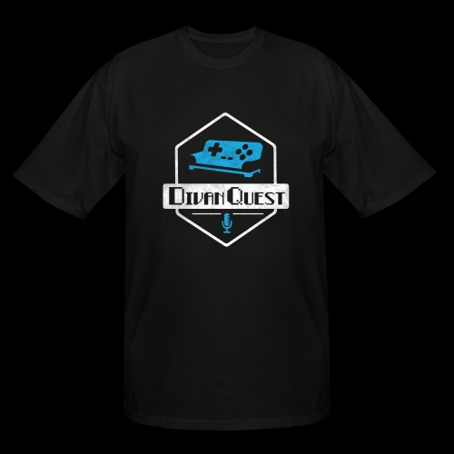 DivanQuest Logo (Badge) - Men's Tall T-Shirt