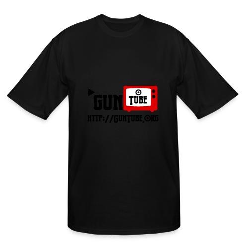 GunTube Shirt with URL - Men's Tall T-Shirt