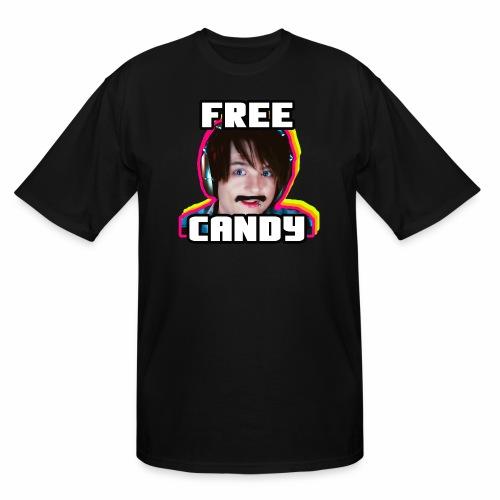 MintySlush FREE CANDY FUNK Edition - Men's Tall T-Shirt