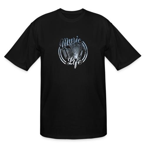 MusicLife1 - Men's Tall T-Shirt