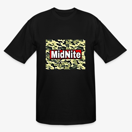 MidNite Camo - Men's Tall T-Shirt