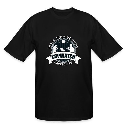 IRATE Productions Copwatch - Men's Tall T-Shirt