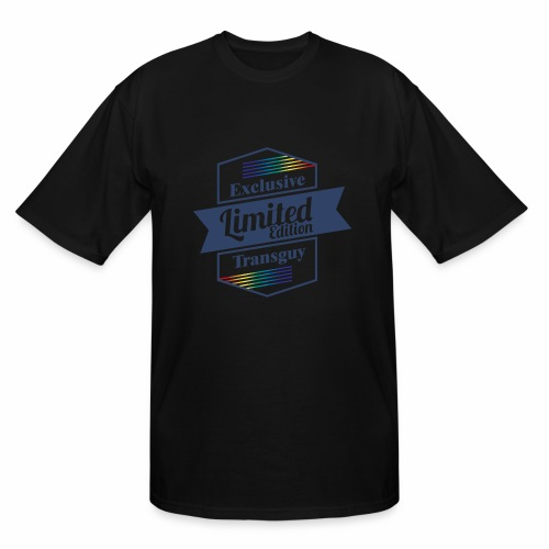 Limited Edition Transguy - Men's Tall T-Shirt
