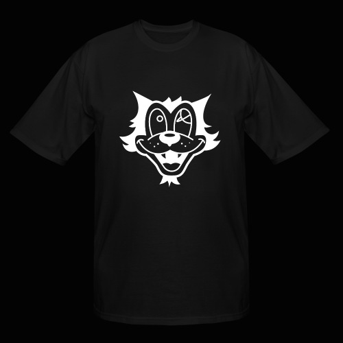 Astro Cats Solid White - Men's Tall T-Shirt