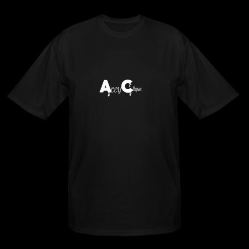 AceyClique White Logo - Men's Tall T-Shirt