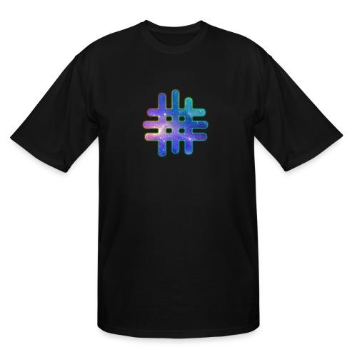 MWF GALAXY LOGO - Men's Tall T-Shirt