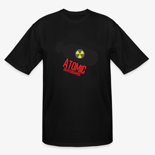 Atomic Skateboard OG Bomb - Men's Tall T-Shirt
