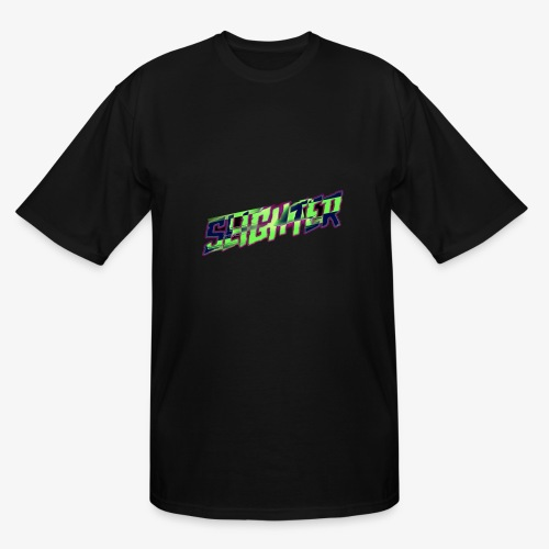 Retro Logo Glitch - Men's Tall T-Shirt