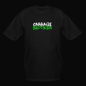 cabbagebrooksie logo v2 - Men's Tall T-Shirt
