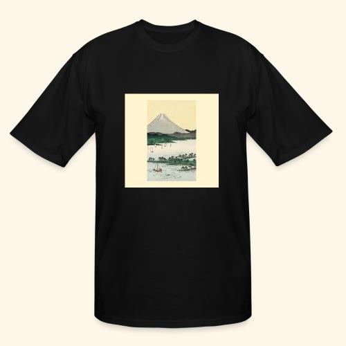 Mount Fuji from Suruga Bay Japan - Men's Tall T-Shirt