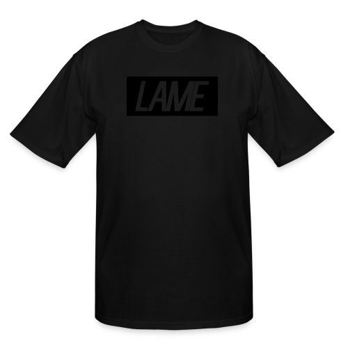 lame/black rectangle - Men's Tall T-Shirt