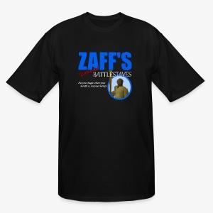 Zaff's Discount Battlestaves Tee - Men's Tall T-Shirt