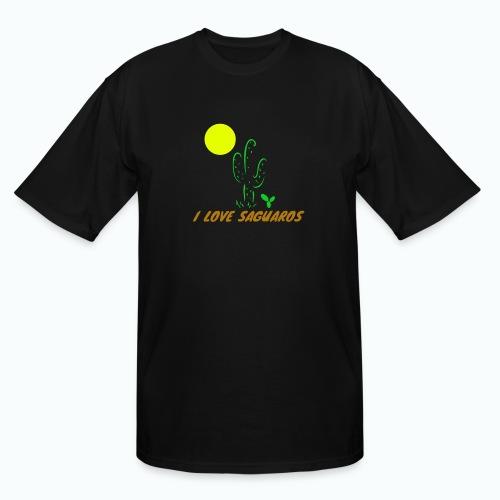 I Love Saguaros - Men's Tall T-Shirt
