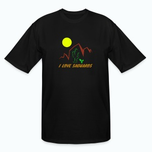 Saguaros 2 - Men's Tall T-Shirt