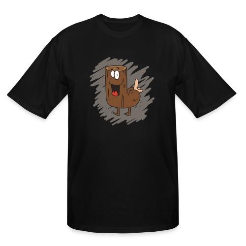 Loganus - Pene with scribble - Men's Tall T-Shirt