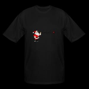 Santa Ho Ho Ho - Men's Tall T-Shirt