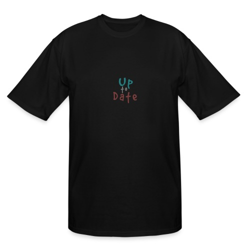 Up to date color - Men's Tall T-Shirt