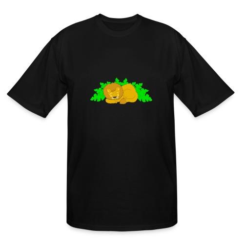 Sleeping Lion - Men's Tall T-Shirt