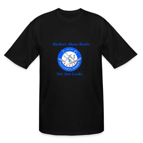 BarberShop Books - Men's Tall T-Shirt