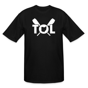 trc two color - Men's Tall T-Shirt