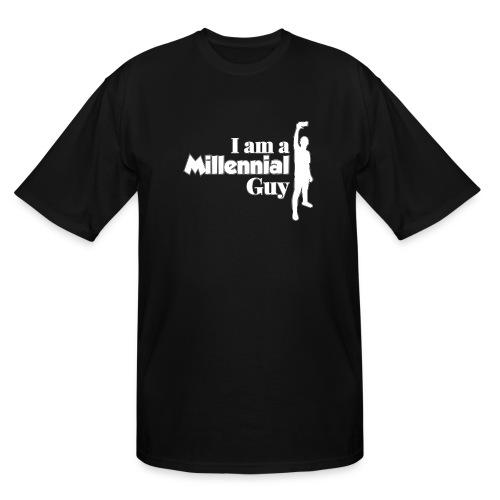 logo I Am a Millinieal Guy - Men's Tall T-Shirt