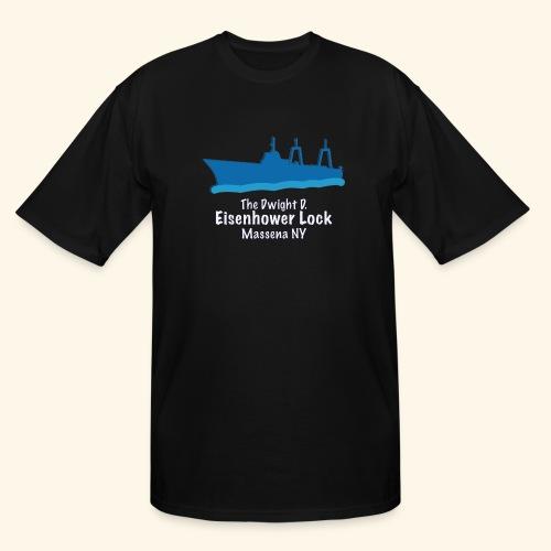 Eisenhower Lock Blue - Men's Tall T-Shirt