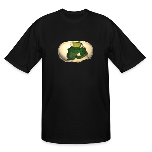 The Emerald Dragon of Nital - Men's Tall T-Shirt