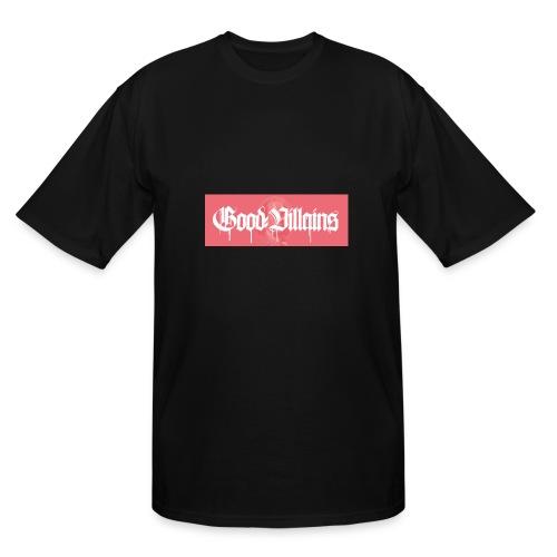 '' Good Villains '' [PINK BOX LOGO] - Men's Tall T-Shirt