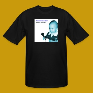 Kevin Dellinger - Microphone Boy - Men's Tall T-Shirt