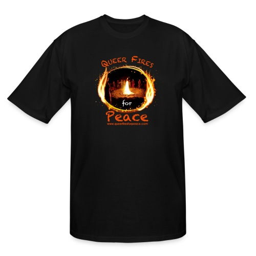 Queer Fires for Peace - Men's Tall T-Shirt
