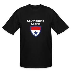 The Southbound Sports Shield Logo. - Men's Tall T-Shirt