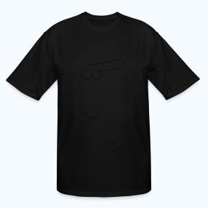 One Hour Still Life - Men's Tall T-Shirt