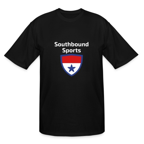 The Southbound Sports Shield Logo. - Men's Tall T-Shirt