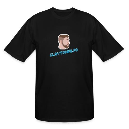 ClaytonFilpo with Text - Men's Tall T-Shirt