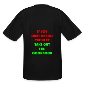 If you can't handle the head take out the cookbook - Men's Tall T-Shirt
